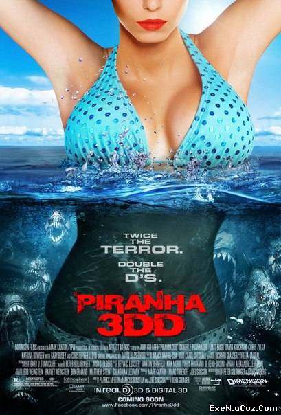 Пираньи 2 3DD (2012) торрент